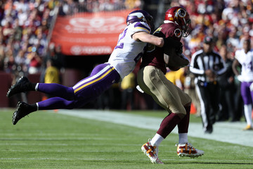 Harrison Smith Minnesota Vikings v Washington Redskins
