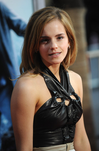 Emma Watson new long haircuts for 2009-blonde hairstyles