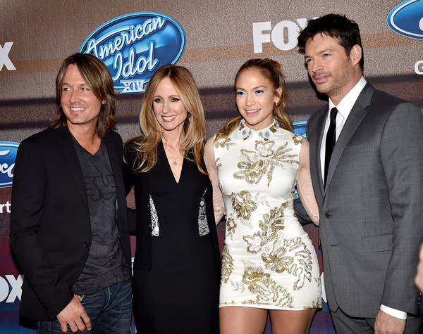 'American Idol XIV' Finalist Party [event,premiere,carpet,party - arrivals,keith urban,jennifer lopez,harry connick jr.,singer,co-chairman,ceo,american idol xiv,fox,fox television group]