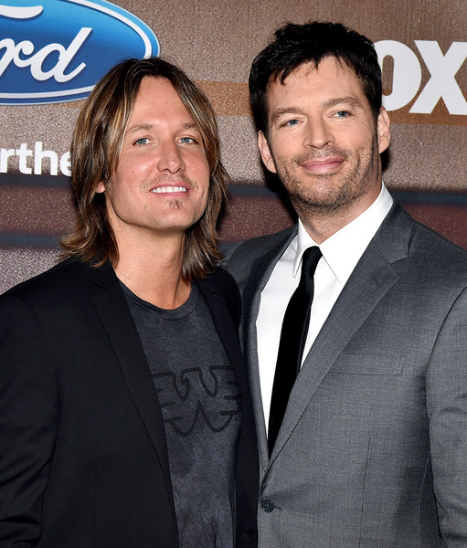 'American Idol XIV' Finalist Party [premiere,suit,event,white-collar worker,smile,party - arrivals,keith urban,harry connick jr.,american idol xiv,california,los angeles,the district,fox,l,finalist party]