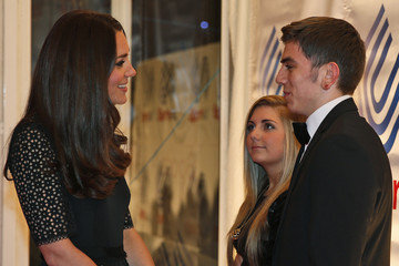 Harry Coppell Kate Middleton at the SportsAid Annual Dinner
