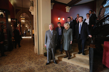 Harry Handelsman The Prince Of Wales And Duchess Of Cornwall Mark 150th Anniversary Of London Underground
