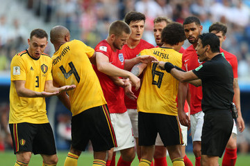 Harry Kane Harry Maguire Belgium vs. England: 3rd Place Playoff - 2018 FIFA World Cup Russia
