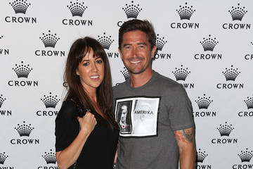 Harry Kewell Sheree Murphy Crown's IMG Tennis Players' Party