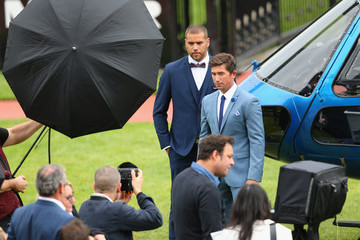 Harry Kewell Politix Menswear Spring Racing Campaign