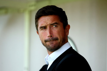 Harry Kewell Crawley Town v Yeovil Town - Sky Bet League Two