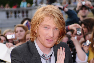 Domnhall Gleeson Harry Potter And The Deathly Hallows - Part 2 - World Premiere