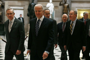 Harry Reid Joe Biden Joint Session Of Congress Counts Electoral College Votes In 2012 Pres. Election