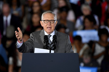Harry Reid President Obama Campaigns for Hillary Clinton in Las Vegas Area