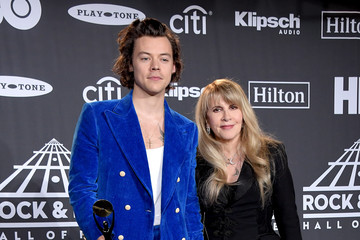 Harry Styles 2019 Rock & Roll Hall Of Fame Induction Ceremony - Press Room
