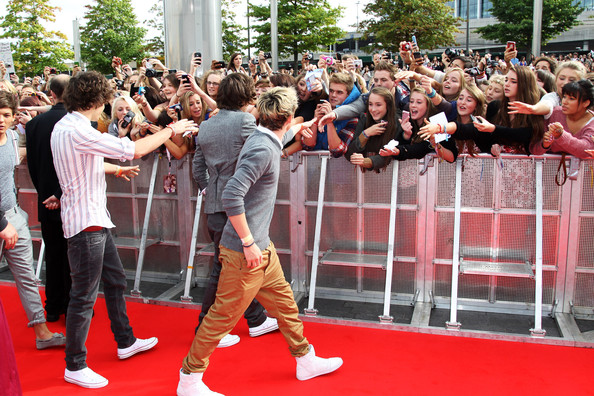 Harry Styles Harry Styles, Louis Tomlinson and Niall Horan of One Direction attend the BBC Teen Awards at Wembley arena on October 9, 2011 in London, United Kingdom.