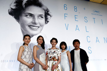 Haruka Ayase 'Notre Petite Soeur' Press Conference - The 68th Annual Cannes Film Festival