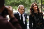 Harvey Weinstein arrives to court with his lawyer Donna Rotunno for arraignment over a new indictment for sexual assault on August 26, 2019 in New York City. The new charges against the movie mogul are from an indictment involving the actor Annabella Sciorra. Weinstein has already been charged with a host of other sexual assault charges and with the trial due to start in three weeks prosecutors are likely to request to add Sciorra's testimony to be included rather than add an additional charge.