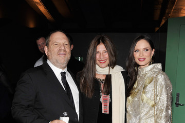 """Harvey Weinstein Georgina Chapman The Cinema Society With Men's Health And DeLeon Host A Screening Of The Weinstein Company's """"Killing Them Softly"""" - Arrivals"""