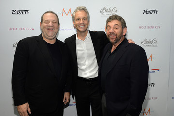 Harvey Weinstein Jim Dolan Celebs at Toronto's Variety Studio