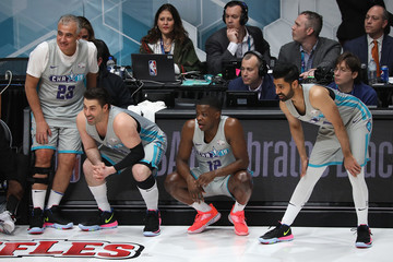 Hasan Minhaj 2019 NBA All-Star Celebrity Game - Inside