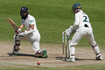 Hashim Amla Nottinghamshire Vs. Hampshire - Specsavers County Championship: Division One