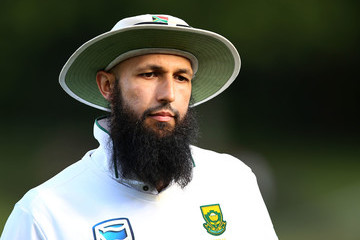 Hashim Amla New Zealand v South Africa - 3rd Test: Day 2