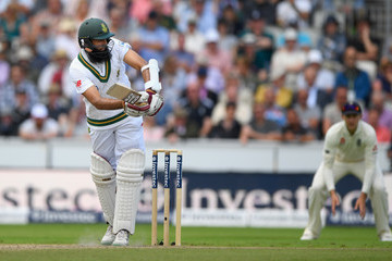Hashim Amla England v South Africa - 4th Investec Test: Day Two