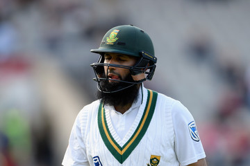 Hashim Amla England v South Africa - 4th Investec Test: Day Four