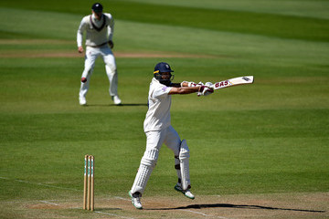 Hashim Amla Somerset Vs. Hampshire - Specsavers County Championship: Division One