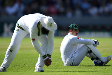 Hashim Amla England v South Africa - 4th Investec Test: Day One