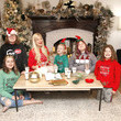 Hattie Margaret McDermott Tori Spelling keeps the magic of the holidays alive with 'got milk?' and  Santa's Journal.