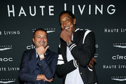(L-R) Kamal Hotchandani and Scottie Pippen attend the Haute Living Celebrates Maluma with JetSmarter and Ciroc at The Highlight Room at the Dream Hollywood on May 15, 2018 in Hollywood, California.