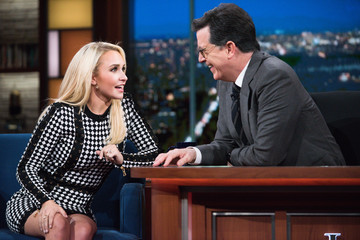"Hayden Panettiere CBS's ""The Late Show with Stephen Colbert"" - Season Two"