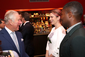 Hayley Atwell The Prince Of Wales Visits The BFI Southbank