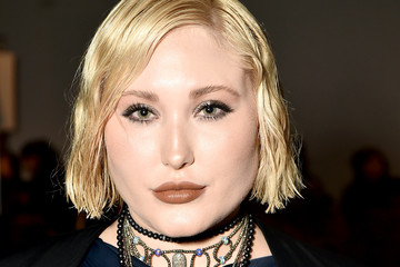 Hayley Hasselhoff Vivienne Hu - Front Row - February 2017 - New York Fashion Week: The Shows