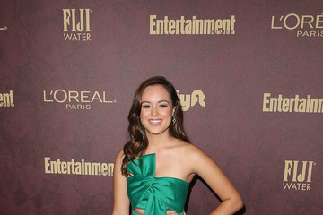 Hayley Orrantia FIJI Water At Entertainment Weekly Pre-Emmy Party