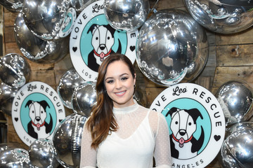 Hayley Orrantia Love Leo Rescue's 2nd Annual Cocktails For A Cause