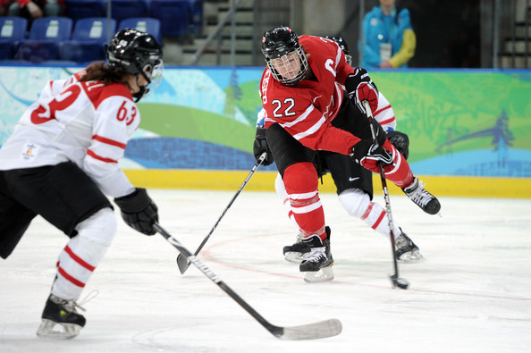Hayley Wickenheiser - Vancouver 2010 Winter Olympics at the UBC Thunderbird Arena