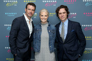 Actor Scott Foley, Actress Monica Potter and Editor in Chief of Town and Country Jay Fielden attend Hearst Magazines MAGFRONT 2015 at Hearst Tower on October 27, 2015 in New York City.