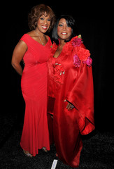 Patti LaBelle Gayle King The Heart Truth's Red Dress Collection 2011 - Backstage - MBFW