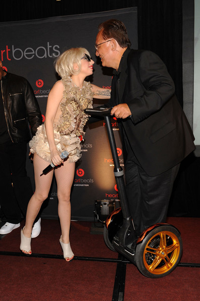 Heartbeats By Lady Gaga Headphones Unveiling. In This Photo: Lady Gaga,