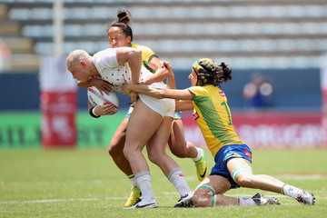 Heather Fisher HSBC World Rugby Women's Sevens Series