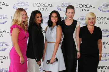 Heather Marie Arrivals at the L'Oreal 'NEXT' Awards in NYC