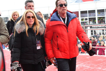 Heather Milligan Celebrities Attend Hahnenkamm Race Weekend
