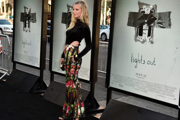 Heather Morris Premiere of New Line Cinema's 'Lights Out' - Arrivals
