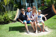 Heather Thomson and family at Beaches Turks & Caicos Resort Villages & Spa on March 18, 2015 in Providenciales, Turks and Caicos Islands.