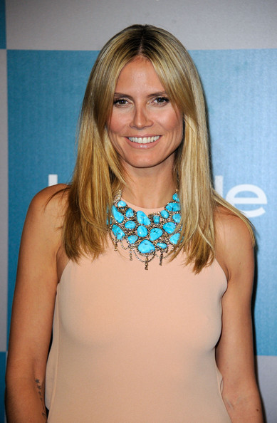 Heidi Klum Pictures - 13th Annual Warner Bros. And InStyle Golden ...heidi model