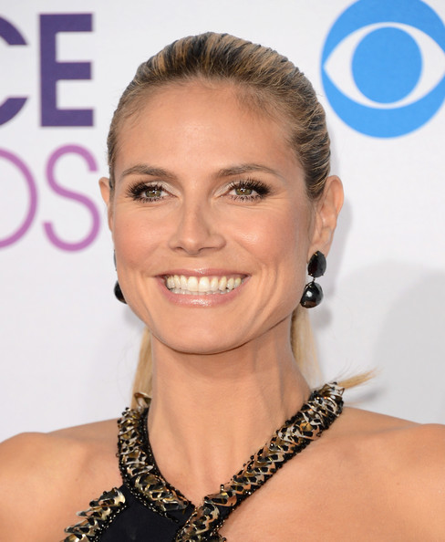 Heidi Klum TV personality Heidi Klum attends the 39th Annual People's Choice Awards at Nokia Theatre L.A. Live on January 9, 2013 in Los Angeles, California.