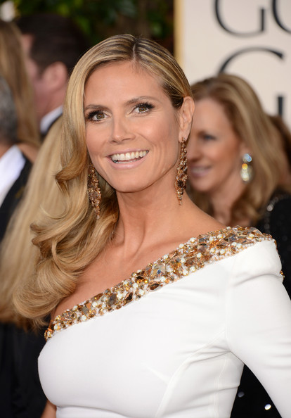Heidi Klum - 70th Annual Golden Globe Awards - Arrivals