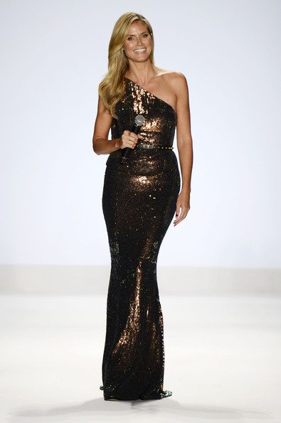 Heidi Klum - MBFW: Best of the Runway