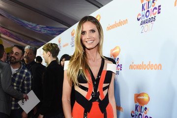 Heidi Klum Nickelodeon's 2017 Kids' Choice Awards - Red Carpet