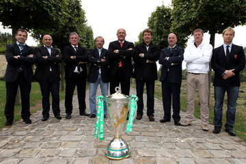 Pierre Berbizier Heineken Cup Launch - Paris