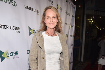 Helen Hunt Premiere of Mister Lister Film's 'Consumed' - Red Carpet