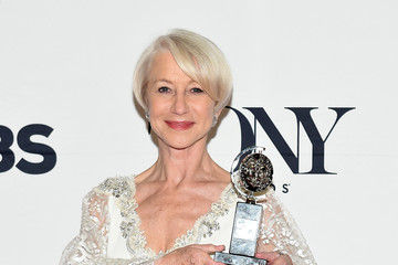 Helen Mirren 2015 Tony Awards - Press Room